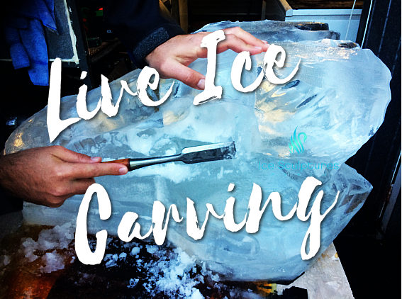 Live Ice Carving