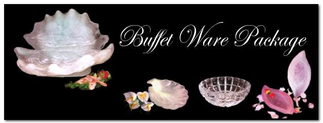 Buffet ware package